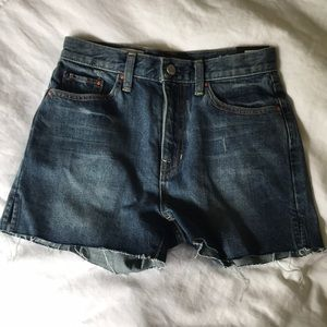 NWT Gap high-rise cutoffs